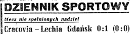Cracovia z gazety