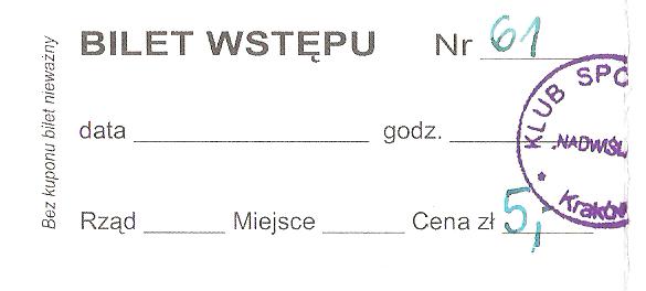 nadwislan-krakow-bilet