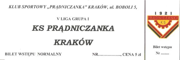 pradniczanka-krakow-bilet