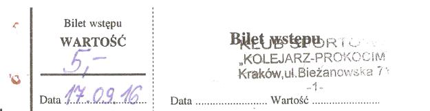 prokocim-krakow-bilet